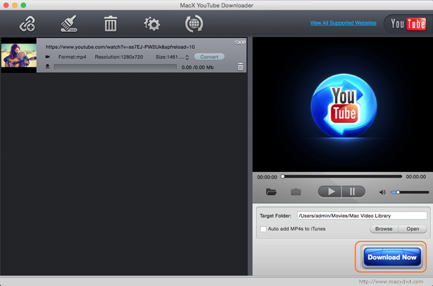 MacX YouTube Downloader for Windows - Click Download Now