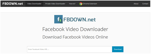Top 10 Online Facebook Video Downloader-FB Down