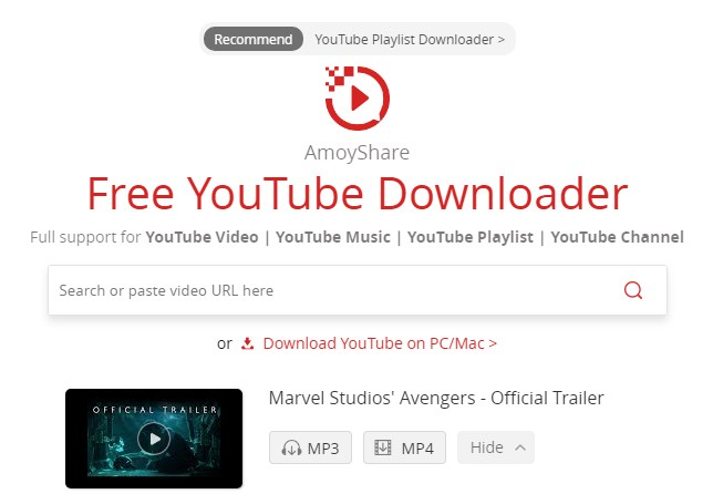 3 Online YouTube Batch Downloaders  -  Free YouTube Downloader