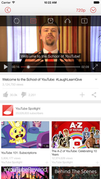 Top 15 YouTube offline app 2016 - Tubex - Videos and Music for YouTube