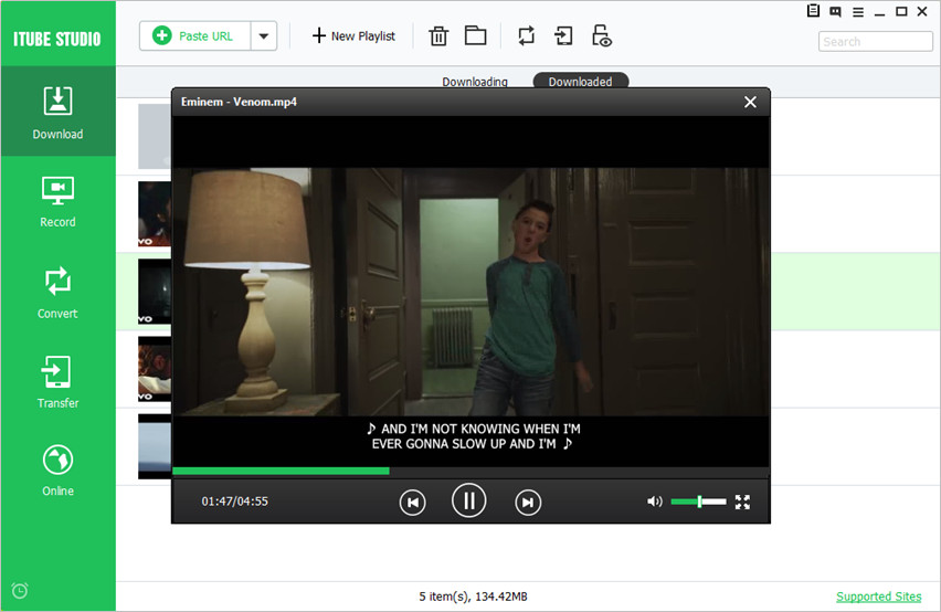 Manage and Play Videos with YouTube downloader
