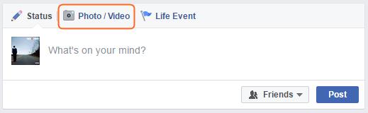Edit Facebook Video - Log in Facebook Account