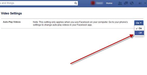 Disable Facebook Autoplay - Disable Facebook Autoplay