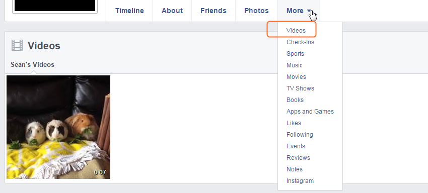 3 Ways to Search Facebook Video you Want - Find Videos in Profile