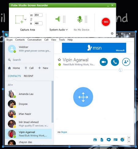 record skype calls - iTube HD Video Downloader