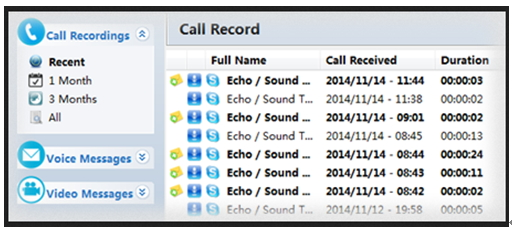 record Skype video - TalkHelper Call Recorder