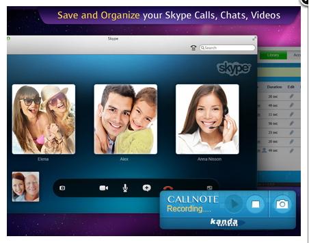Skype call recorder - Callnote