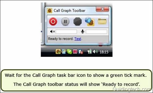 Skype call recorder - CallGraph