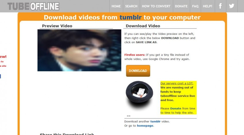 All Ways to Download Videos from Tumblr - Start Downloading Video