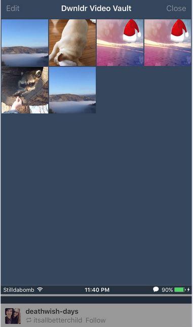Tumblr Video Downloader for iPhone - Dwnldr
