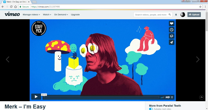 vimeo music videos