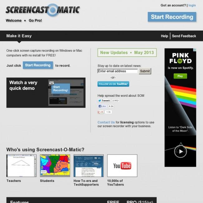 AVI Video Recorders - Screencast-O-Matic