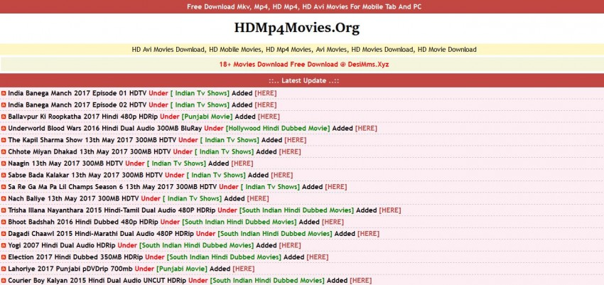 Download Movies in AVI - HD MP4 Movies