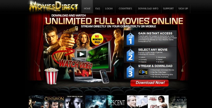 Download Movies in AVI - Movies Direct