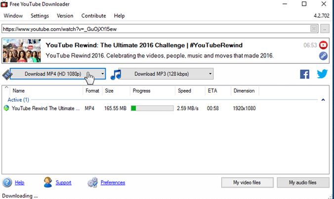 YouTube to AVI HD Converter - Free YouTube Downloader