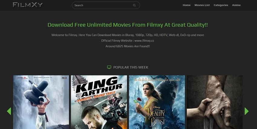 AVI Movie Sites - Fimxy