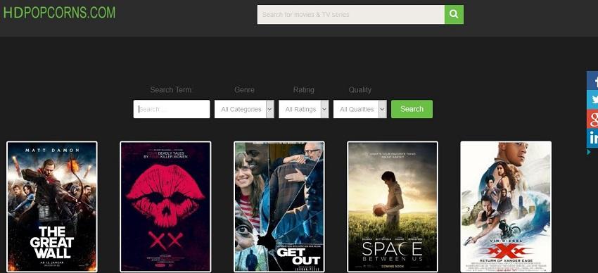 AVI Movie Sites - HD Popcorns