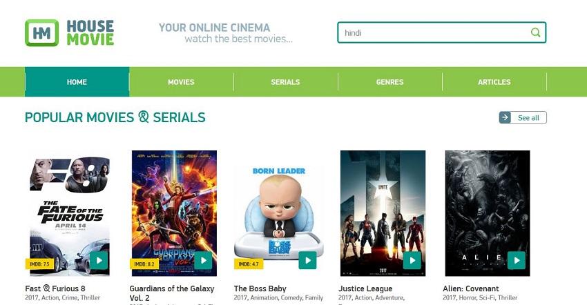 AVI Movie Sites - HouseMovie