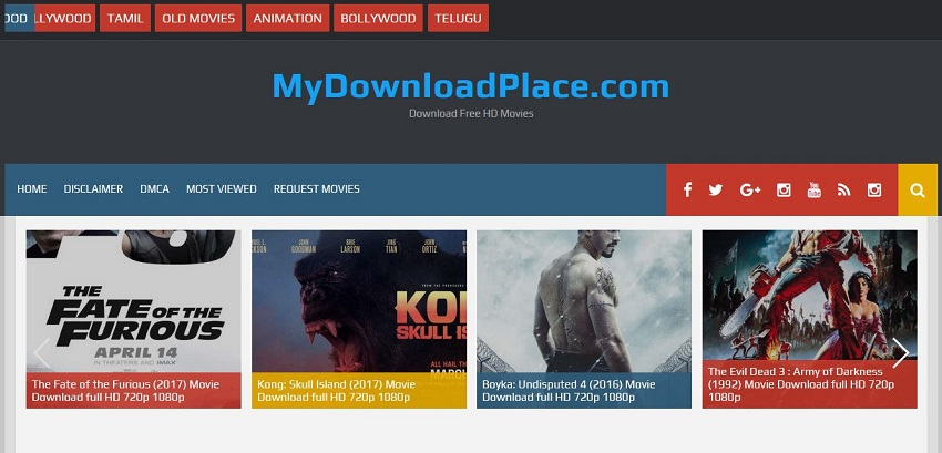 AVI Movie Sites - My Download Place