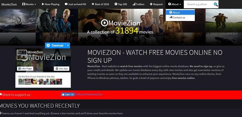 AVI Movie Sites - MovieZion