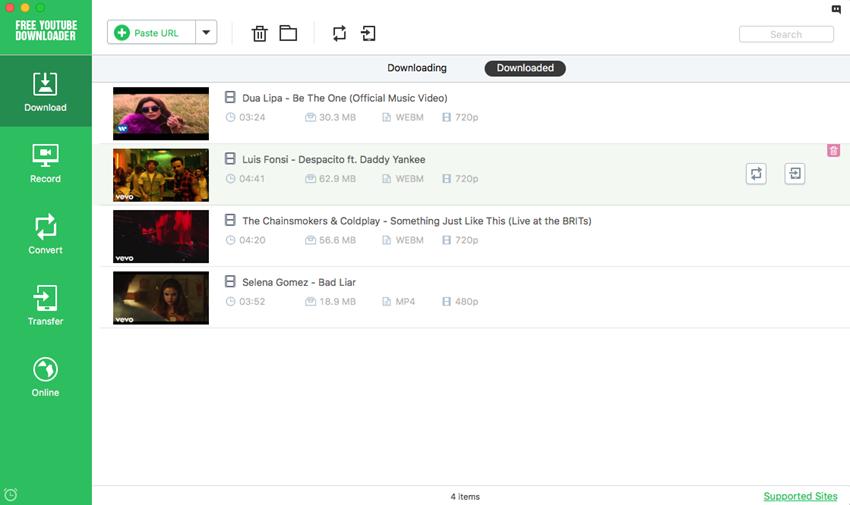youtube app for macbook