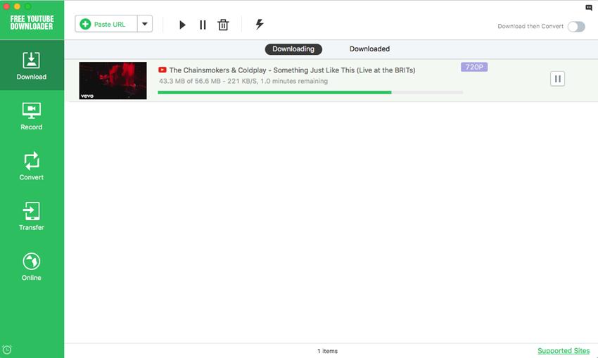 youtube app for mac
