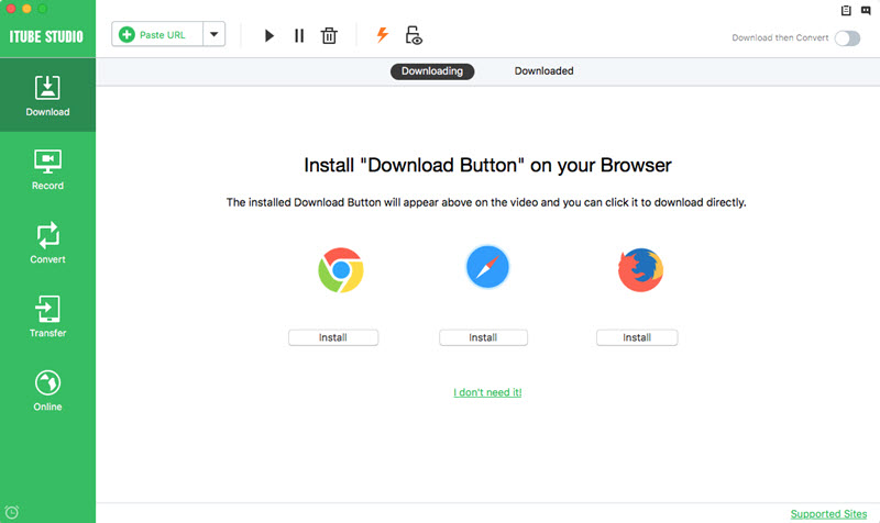 video browser and downloader