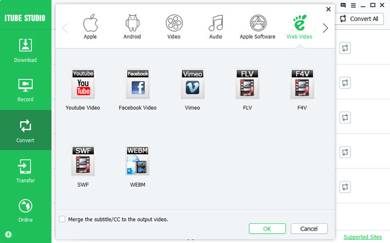 convert video to web video