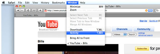 save youtube video to mac