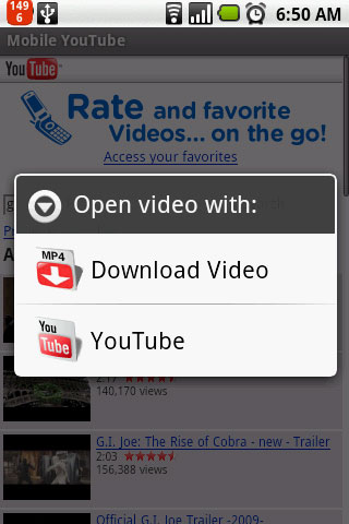 youtube mp3 download android