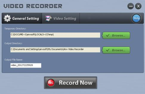 record internet video online