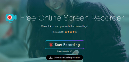 screen recorder free no download