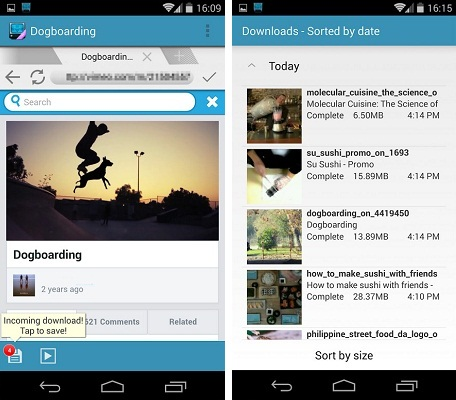video downloader app for android phone