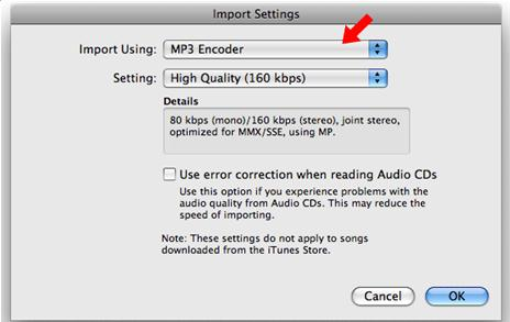 how to convert itunes aac to mp3