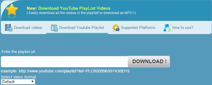 download playlist from youtube online