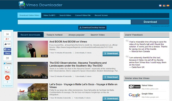vimeo private video downloader