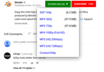 youtube downloader for safari