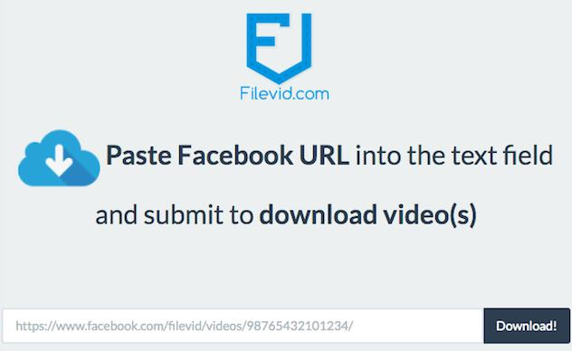 download facebook video to computer