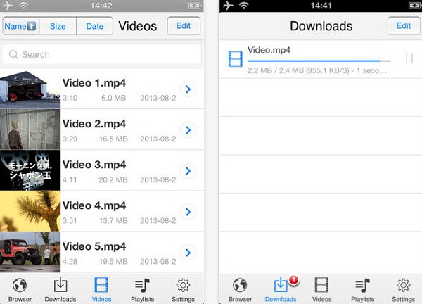 video downloader app iphone