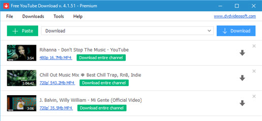 mp4 downloader free music video