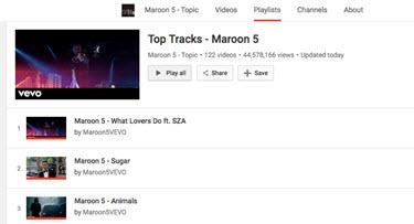 youtube playlist repeat