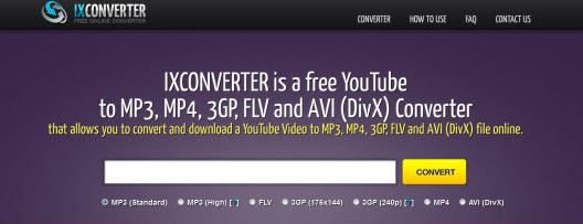 YouTube Video Ripper Online - IXCONVERTER.com