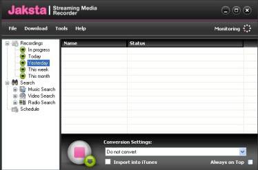 online media recorder