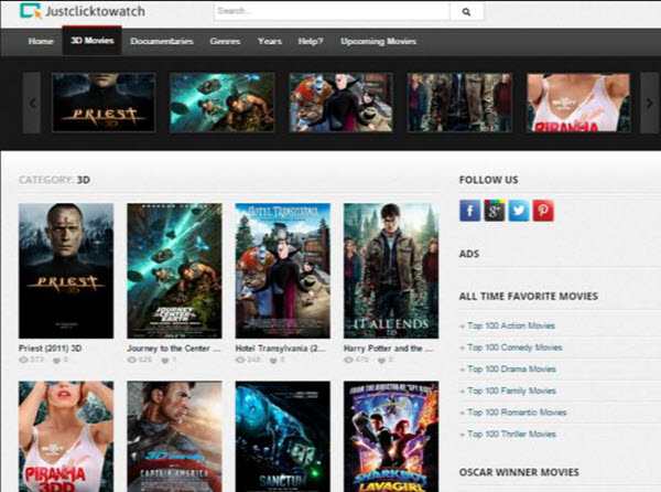 watch movies online free without downloading