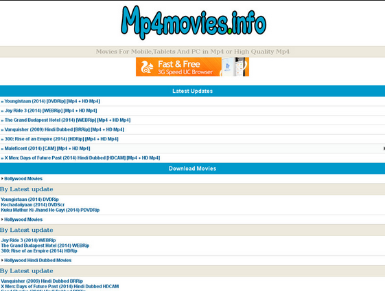 mp4 movies website