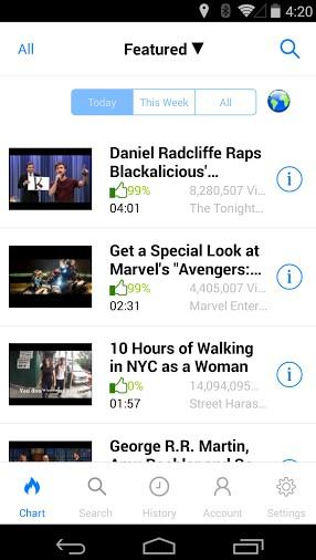 youtube playlist app