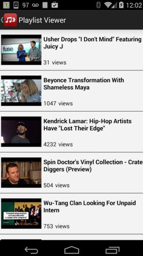 app youtube playlist