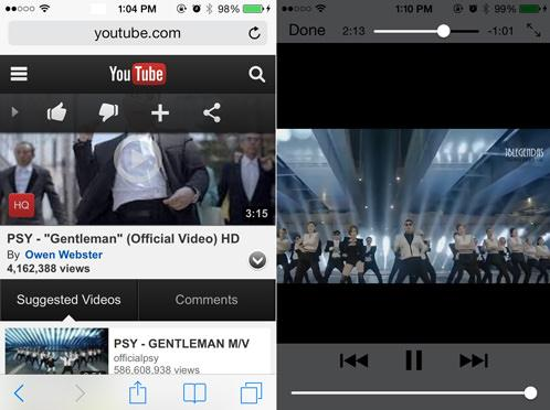 youtube playlist player app