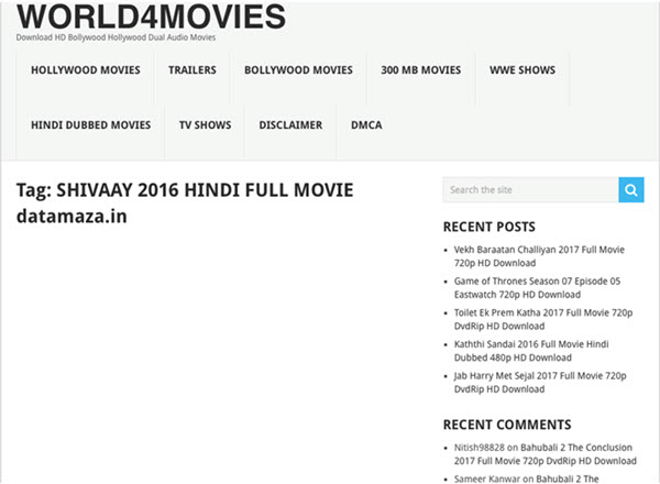 sites to download bollywood movies