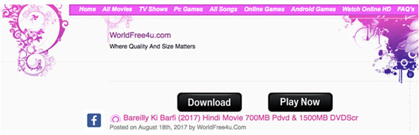 sites for downloading free movies of bollywood